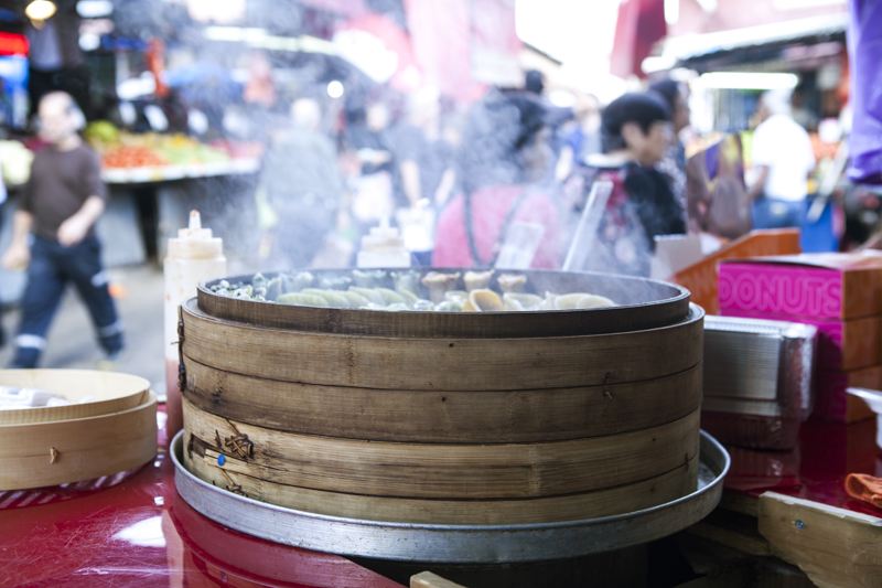 dim sum in the market