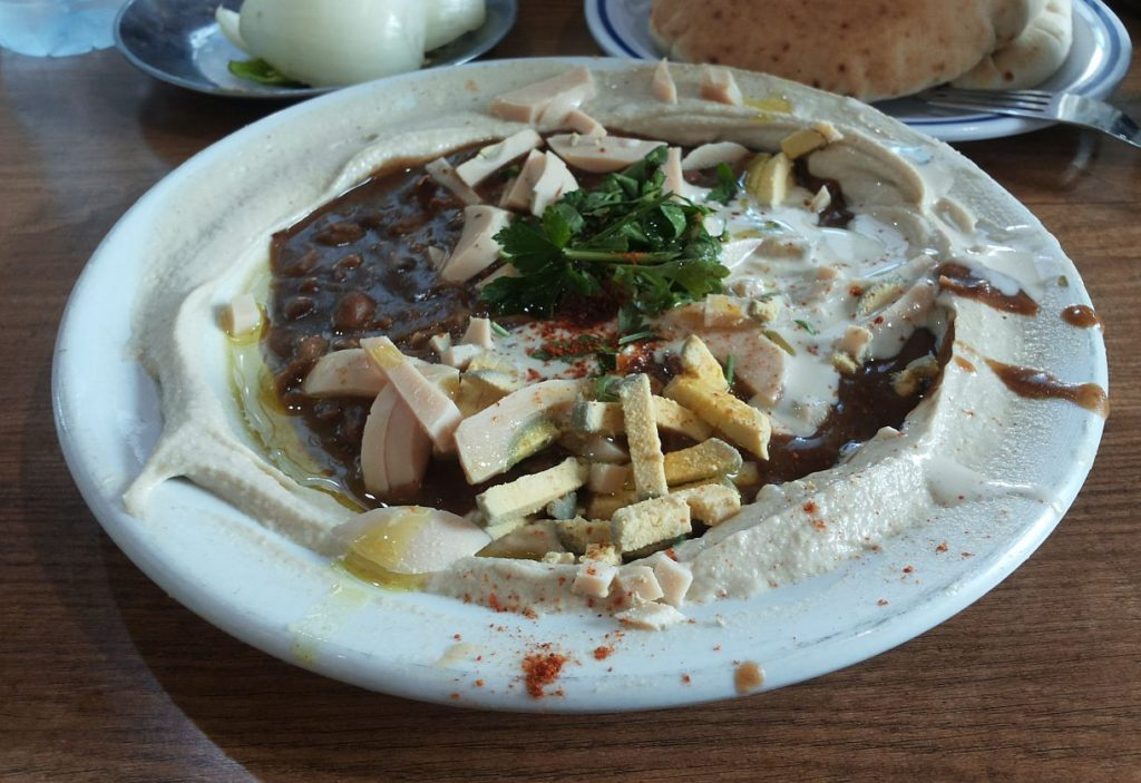 syrian son hummus