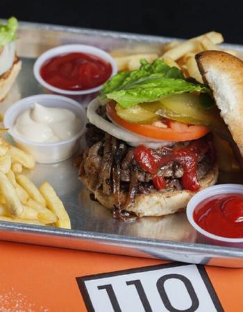 110 Burger Sarona