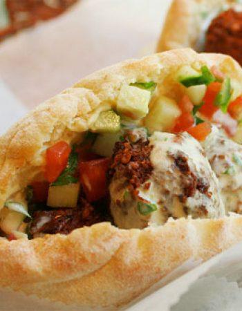Falafel BaRibua Yad harutzim